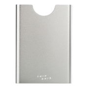 Thin King Gorditio Aluminium Card Case (Silver) - Front View
