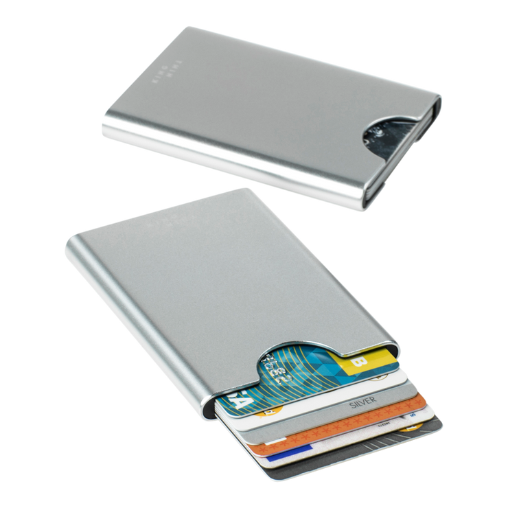 Thin King Gorditio Aluminium Card Case (Silver) - RFID Safe