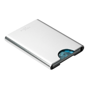 Thin King Gorditio Aluminium Card Case (Silver) - Slim Profile