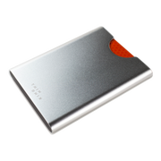 Thin King Gorditio Aluminium Card Case (Silver) - Compact & Lightweight