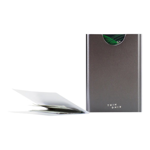Thin King Gorditio Aluminium Card Case (Titan) - Compact & Lightweight