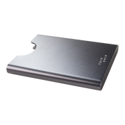 Thin King Gorditio Aluminium Card Case (Titan) - Anodised Aluminium