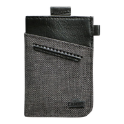 Loft of Cambie Wolyt Sleeve with RFID Shield (Heather Black) - Front View