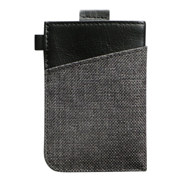 Loft of Cambie Wolyt Sleeve with RFID Shield (Heather Black) - Back View