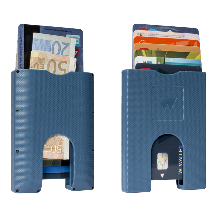 WALTER STACK & SLIDE ABS CARD WALLET (TRUE BLUE)