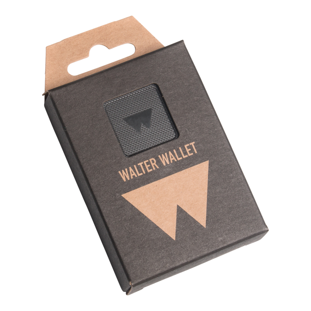 Walter Stack & Slide ABS Card Wallet (Way Black) - Packaging Front