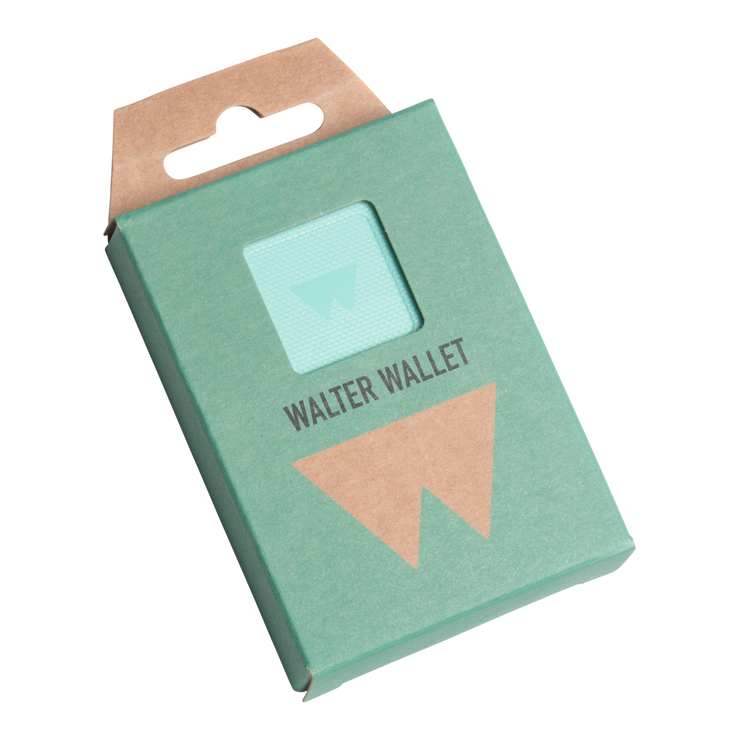 Walter Stack & Slide ABS Card Wallet (Fresh Mint) - Packaging Front