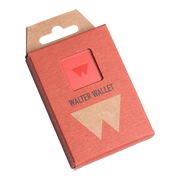 Walter Stack & Slide ABS Card Wallet (Jet Red) - Packaging Front