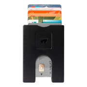 Walter Stack & Slide ABS Card Wallet (Way Black) - Front View