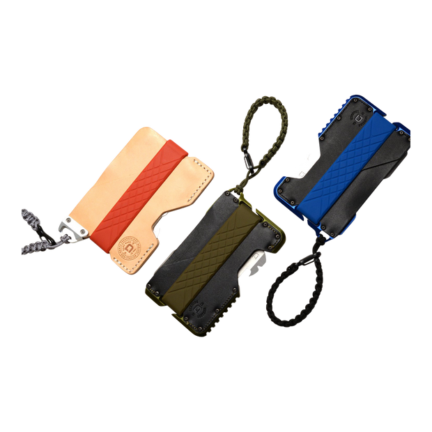Dango Sling (Jet Black) at Wallet Co - Wallet Aerial View