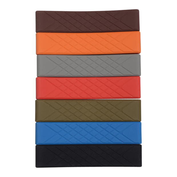 Dango Silicone Wallet Band (Brown) - Series Front View