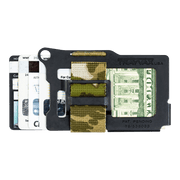 Trayvax Armored Summit Wallet (Forest Camo) - Back View