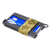 Trayvax Armored Summit Wallet (Forest Camo) - Angled View