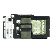 Trayvax Armored Summit Wallet (Stone Grey) - Back View