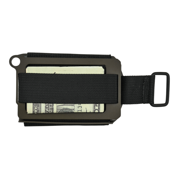 Trayvax Axis Wallet (OD Green Cerakote) - Back View