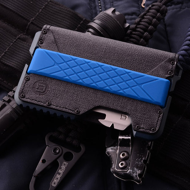 Dango T01 Tactical Bifold Spec-Ops Special Edition Wallet (Blueline) - Mil-Spec Bolts