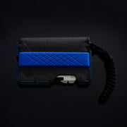 Dango T01 Tactical Bifold Spec-Ops Special Edition Wallet (Blueline) - Paracord Attached