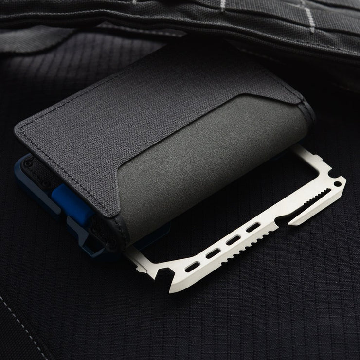 Dango T01 Tactical Bifold Spec-Ops Special Edition Wallet (Blueline) - RFID Blocking
