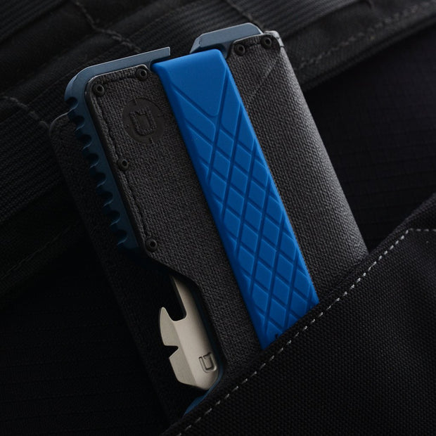 Dango T01 Tactical Bifold Spec-Ops Special Edition Wallet (Blueline) - In Pocket