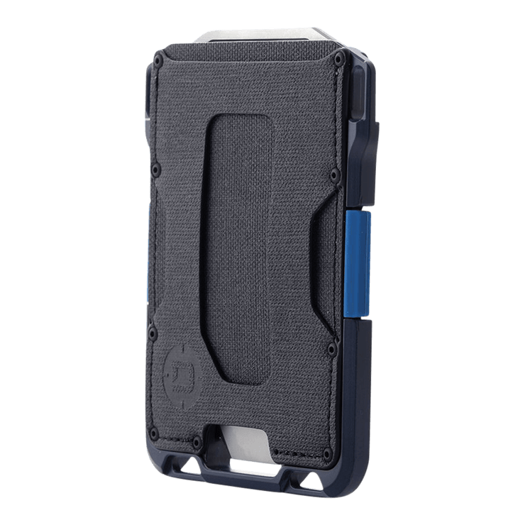ango M1 Maverick Single Pocket Spec-Ops Special Edition Wallet (Blueline) - Angled View