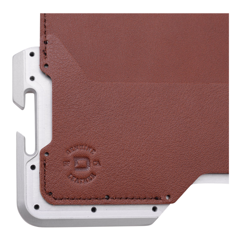Dango Mil-Spec HEX Wallet Screws (Silver) - Front View