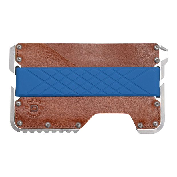 Dango Silicone Wallet Band (Blue) - Wallet View