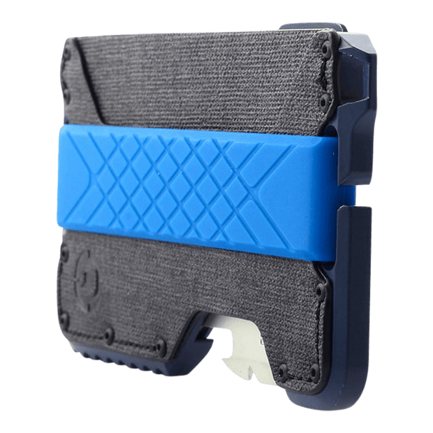 Dango T01 Tactical Spec-Ops Special Edition Wallet (Blueline) - Angled View