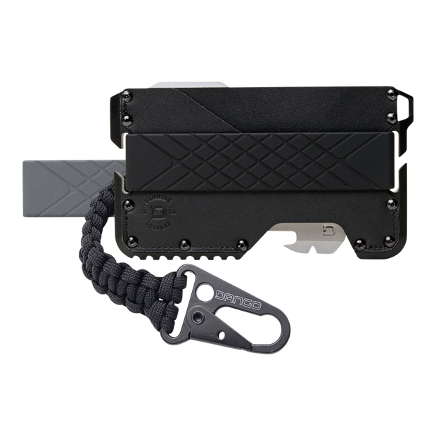 Dango T01t Tactical Wallet Bundle (Jet Black) - Complete View