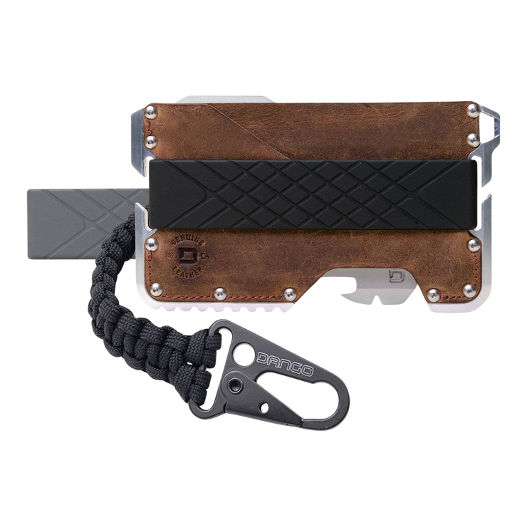 Dango T01t Tactical Wallet Bundle (Raw Hide) - Complete View