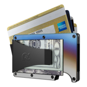 The Ridge Titanium Money Clip Wallet (Burnt) - Money Clip