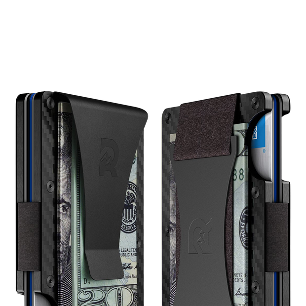 The Ridge Carbon Fibre 3K Cash Strap & Money Clip Wallet - Cash Strap & Money Clip