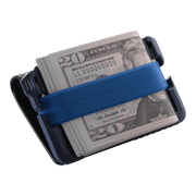 Dango T01 Tactical Bifold Spec-Ops Special Edition Wallet (Blueline) - Cash Strap
