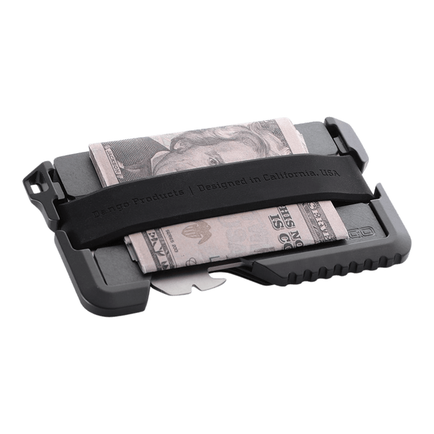 Dango T01 Tactical Spec-Ops Special Edition Wallet (Gunmetal) - Cash Strap