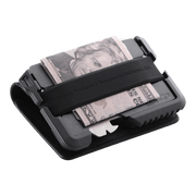 Dango T01 Tactical Bifold Spec-Ops Special Edition Wallet (Gunmetal) - Cash Strap