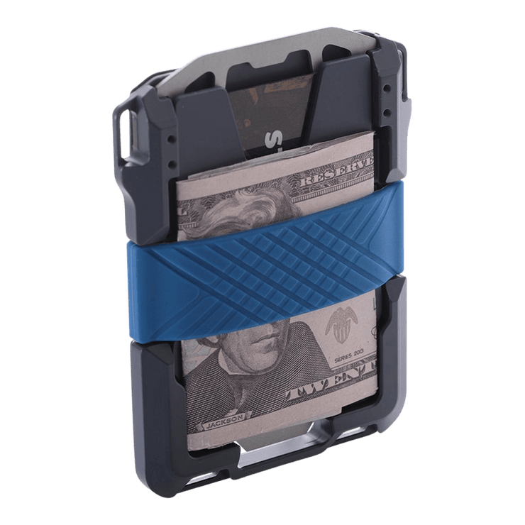 ango M1 Maverick Single Pocket Spec-Ops Special Edition Wallet (Blueline) - Cash Strap