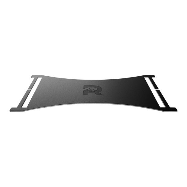 The Ridge Cash Strap Plate (Black) - Side View