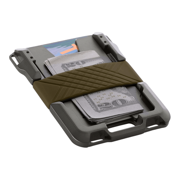 Dango M1 Maverick Single Pocket Spec-Ops Wallet (OD Green) - Cash Strap