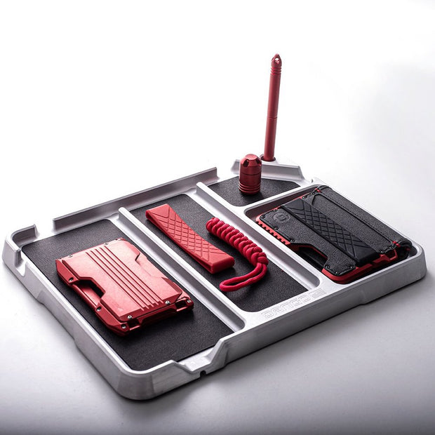 Dango A10 Adapt Wallet (Crimson Red) - EDC Tray