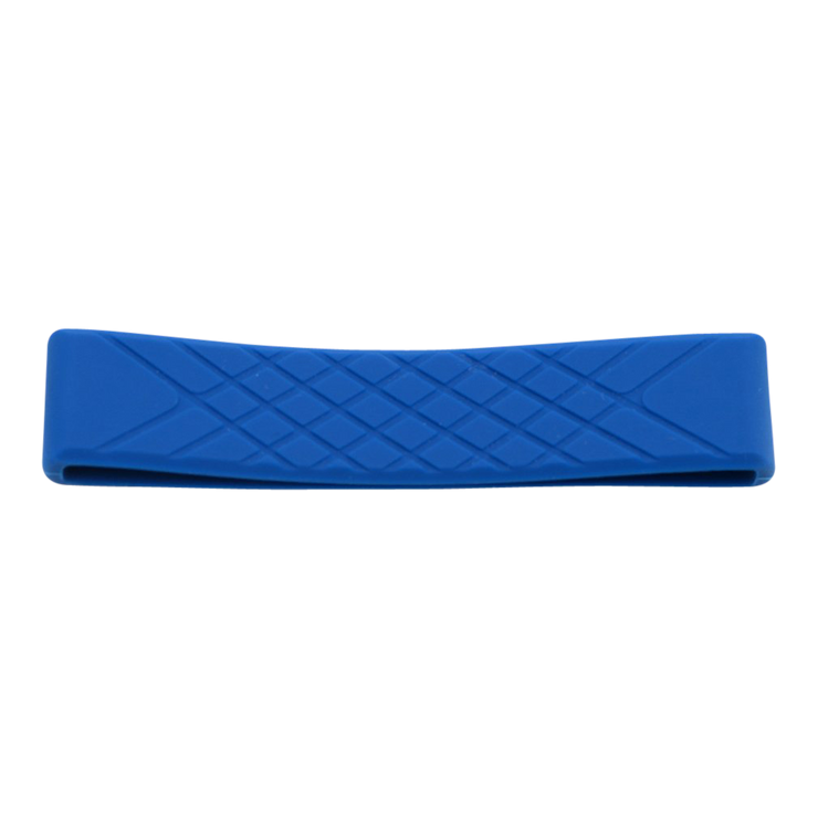 Dango Silicone Wallet Band (Blue) - Front View