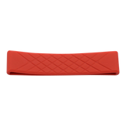 Dango Silicone Wallet Band (Red) - Front View