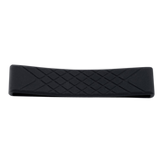 Dango Silicone Wallet Band (Jet Black) - Front View