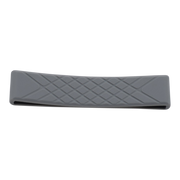Dango D01t Dapper Wallet Bundle (Jet Black) - Grey Silicone Band