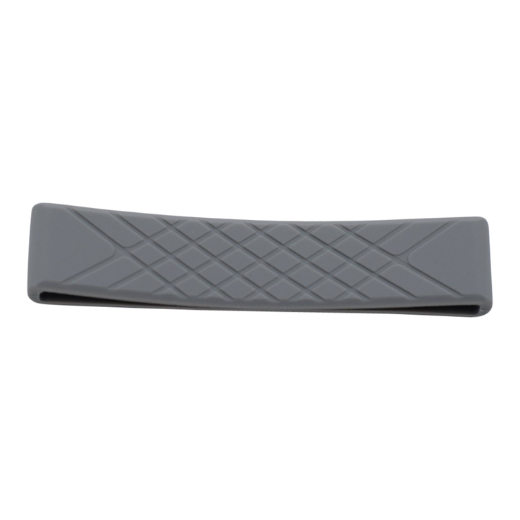 Dango T01t Tactical Wallet Bundle (Raw Hide) - Grey Silicone Band