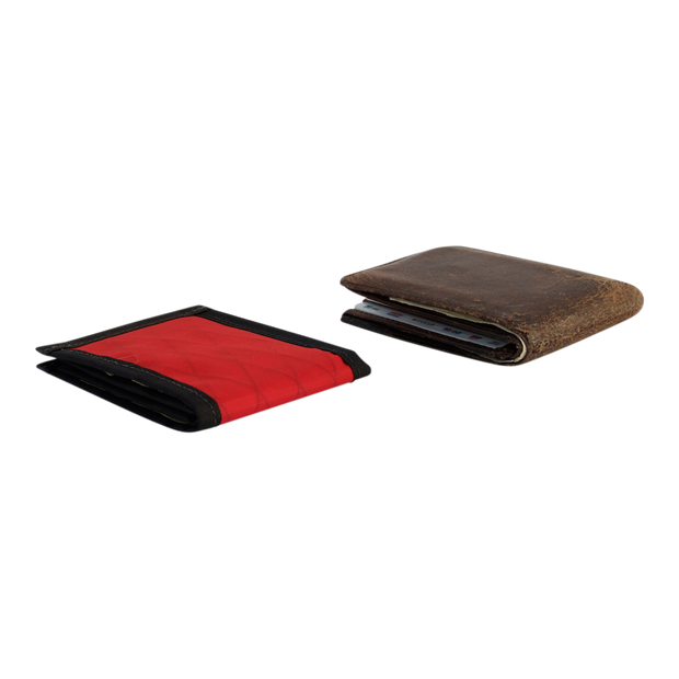 Flowfold Vanguard Limited Billfold Wallet (Bicycle Red) - Slim Profile