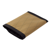 Flowfold Traveler Limited Trifold Wallet (Coyote Brown) - Closed View