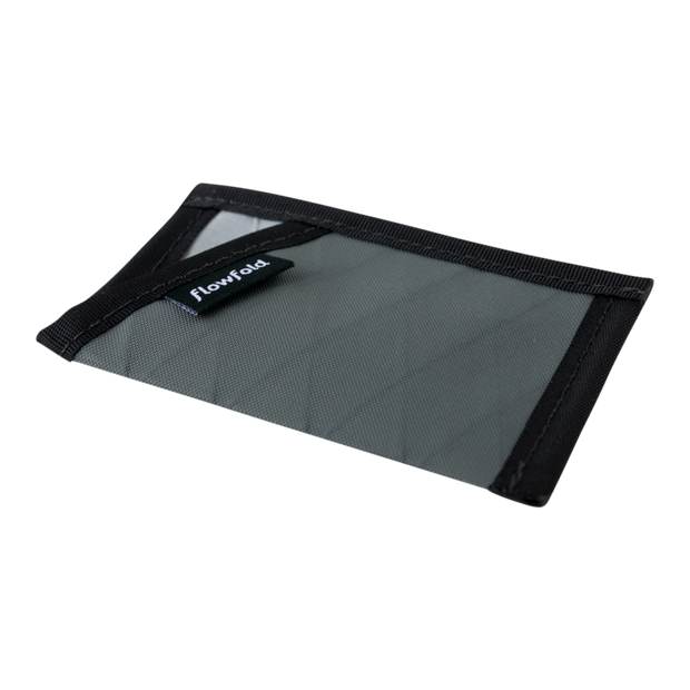 Flowfold Minimalist Limited Wallet (Slate Grey) - Slim Profile