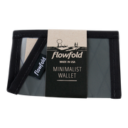 Flowfold Minimalist Limited Wallet (Slate Grey) - Packaging