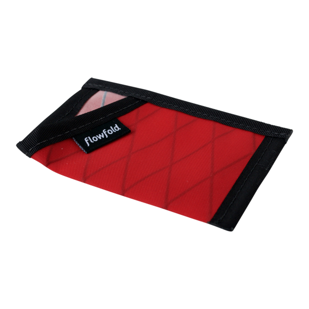 Flowfold Minimalist Limited Wallet (Bicycle Red) - Slim Profile