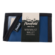 Flowfold Minimalist Limited Wallet (Navy Blue) - Packaging
