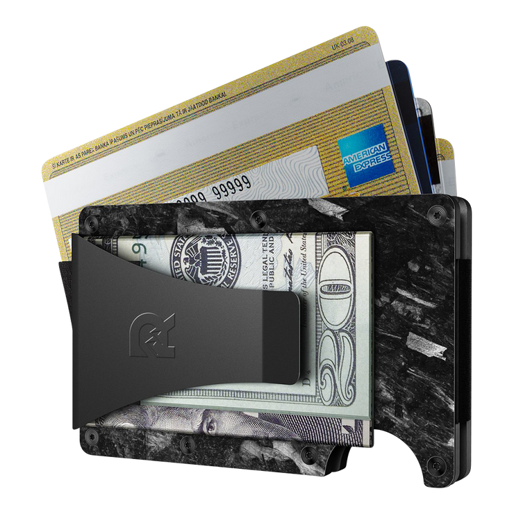 The Ridge Forged Carbon Money Clip Wallet - Money Clip